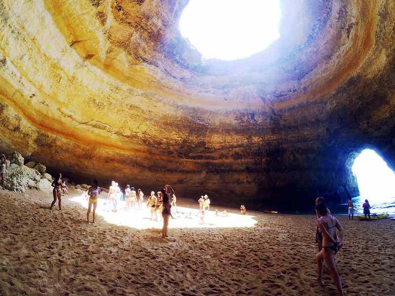 benagil cave 6
