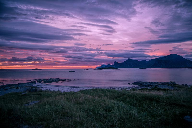 lofoten-tramonto