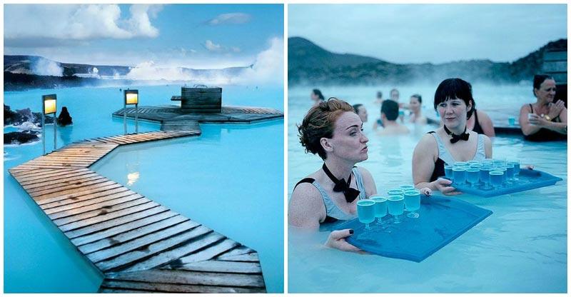 Laguna blu islanda foto wj56 regardsdefemmes for Ibiza a maggio si fa il bagno