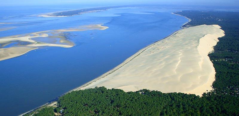 Risultati immagini per francia duna del pilat INVERNO