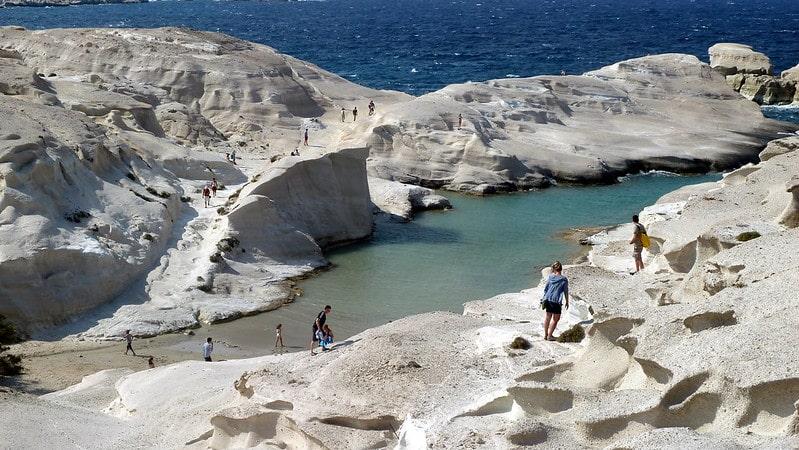 Sarakiniko-Beach