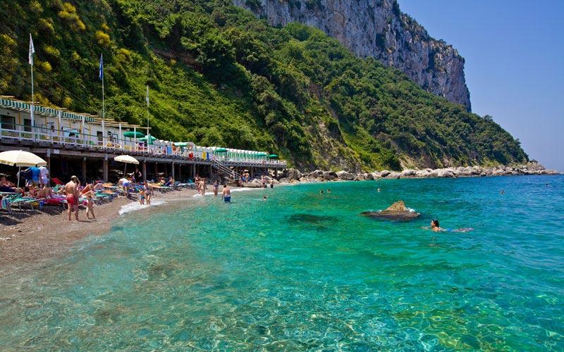 Le spiagge pi belle della campania weplaya - Bagno romano igea marina ...