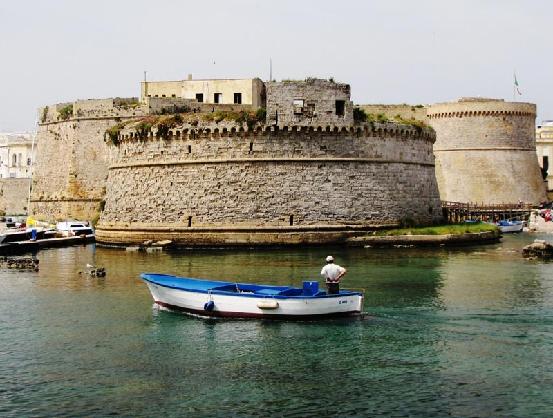 Gallipoli-Castello-Aragones