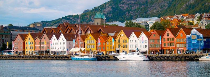 Bryggen-Norvegia