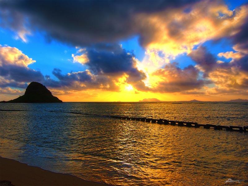 hawaii-tramonto